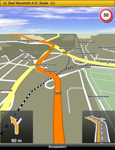 برنامج navigon للايفون , اهم برامج الملاحة للايفون دليل الطريق بدون انترنت