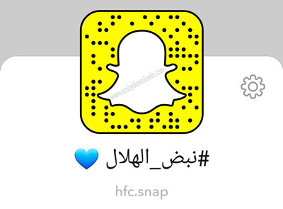 حساب نادي الهلال السعودي في السناب.