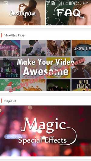اجمل تصميم للفيديوهات في برنامج فيفا فيديو