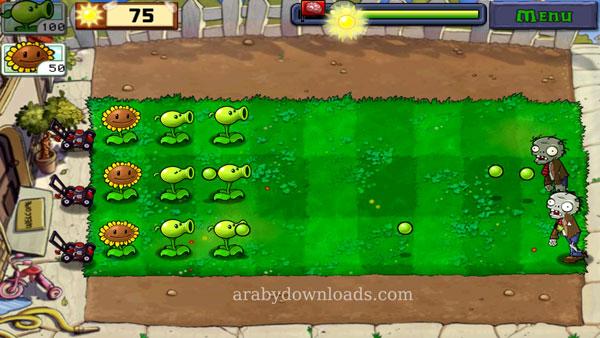 تحميل لعبة النباتات ضد الزومبي للاندرويد الجديدة 2016 Download Plants vs Zombies free full
