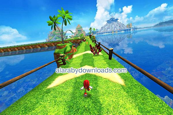 لعبة المغامرة سونيك Sonic Dash - أفضل ألعاب الكمبيوتر 2018