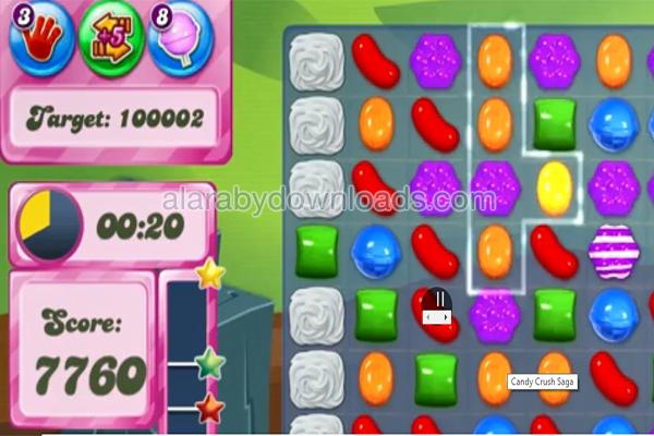 لعبة كاندي كراش Candy Crush - أفضل 10 ألعاب ويندوز 10 مجانا