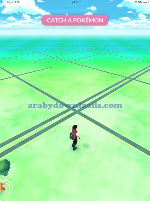ابحث عن البكيمون والتقطه من حولك - بوكيمون Pokemon Go
