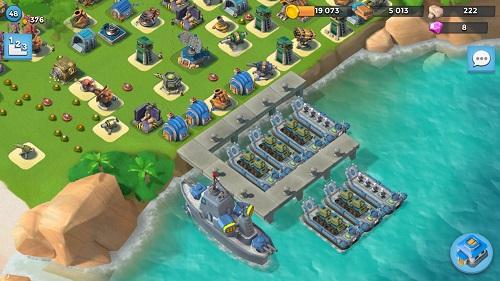 تحميل لعبة بوم بيتش Boom Beach بوم بيج للاندرويد وللايفون