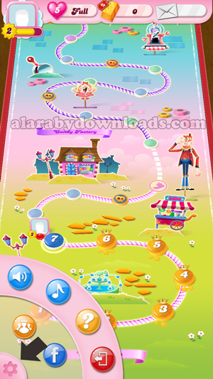 اعدادات Candy-Crush-Saga للجوال _ تحميل Candy-Crush-Saga للموبايل