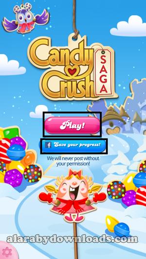 تحميل لعبة candy crush saga للموبايل