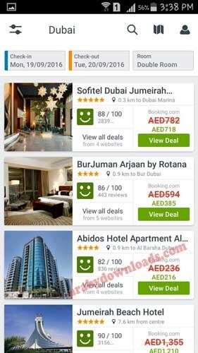 تحميل برنامج تريفاجو لمقارنة اسعار حجز الفنادق