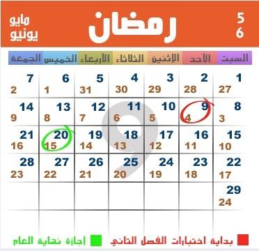 كم تاريخ اليوم هجري ؟ رمضان 1438 هجري 2017 ميلادي