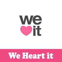 تحميل خلفيات وصور و رمزيات للجوال برنامج وي هارت ات we heart it