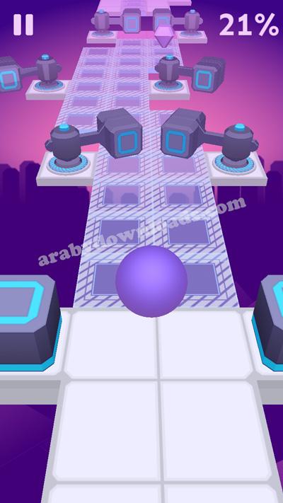 تحميل لعبة Rolling Sky الكرة الحمراء والحواجز الاصلية من المتجر apk
