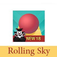 تحميل لعبة Rolling Sky 18 اخر إصدار