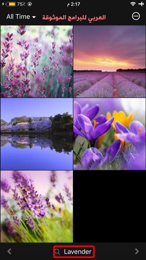 البحث عن خلفيات ايفون باستعمال برنامج خلفيات للصور للايفون - تحميل برنامج خلفيات للايفون والايباد Wallpapers HD