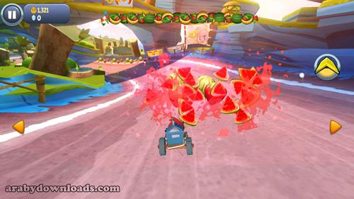 تحميل لعبة Angry Birds Go للاندرويد
