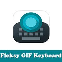تحميل لوحة مفاتيح الايفون fleksy keyboard ارسال صور GIF مجانا