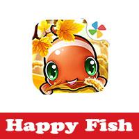 تحميل لعبة السمكة السعيدة للاندرويد Happy Fish