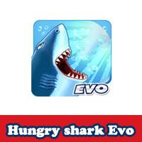 تحميل لعبة القرش الجائع للاندرويد Hungry Shark Evolution مجانا