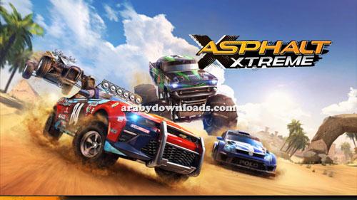 صورة بعد تجربة و تحميل لعبة asphalt xtreme اسفلت اكستريم الجديدة للاندرويد apk