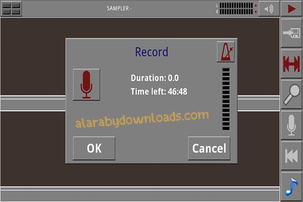 تحميل برنامج تحرير وتعديل الصوت للاندرويد Androsynth رابط مباشر