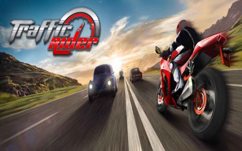 لعبة سباق الدراجات Traffic-rider