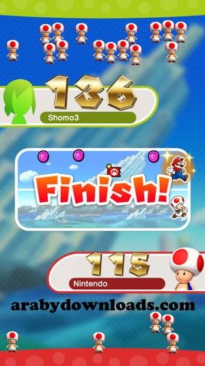 مرحلة Toad Rally- شرح ماريو