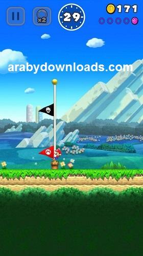 تحميل لعبة سوبر ماريو رن للايفون مجانا Super Mario Run