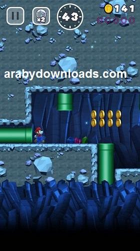 تحميل لعبة سوبر ماريو الجديدة للايفون Super Mario Run iPhone