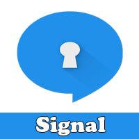 تطبيق التراسل الآمن Signal