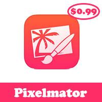 حمل الان برنامج Pixelmator للايفون والايباد والايبود فقط بـ 0.99$ ولفترة محدودة