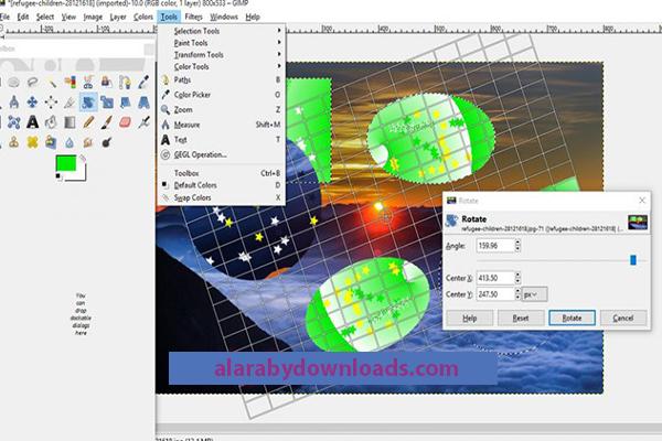 تحميل برنامج Gimp للكمبيوتأبرز االر جيمب لتعديل وتحرير ودمج الصور أحدث اصدار 2020