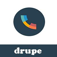 تحميل برنامج جهات الاتصال للاندرويد drupe