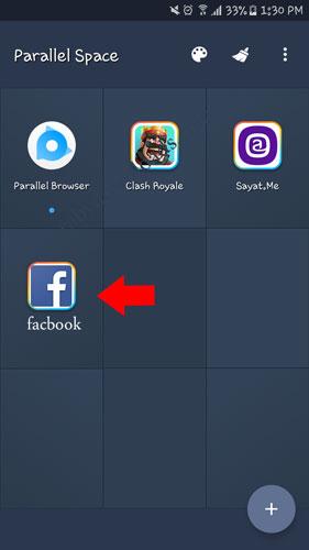 لقد تمت عملية اضافة فيسبوك اخر لتتمتع الان