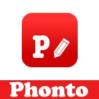 تحميل برنامج phonto للايفون فونتو اضافة نصوص عربية وخلفيات ملونة للصور