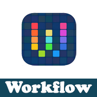 تحميل برنامج workflow للايفون الورك فلو اداة التحكم في برامج الايفون بسهولة
