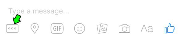 تثبيت التطبيقات المجانية في ماسنجر فيسبوك - Messenger على الايفون