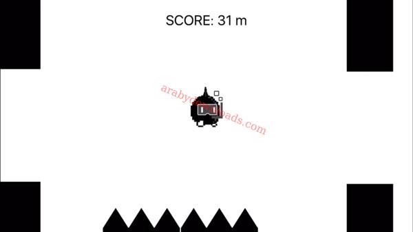 مرحلة السباحة بالصراخ داخل لعبة سكريم قو على الايفون 2 - تحميل لعبة القفز بالصراخ للايفون