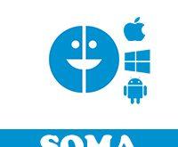برنامج سوما ماسنجر SOMA Messenger مكالمات فيديو وصوت مجانية بدون حظر دردشة مجانية مشفرة بالكامل مكالمات بدون حجب لجميع الدول سوما ويب