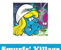 تحميل لعبة قرية السنافر للايفون smurfs village للايفون وطريقة زيادة عدد التوت