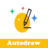 شرح برنامج الرسم من قوقل autodraw كيفية عمل اداة الرسم التلقائي اوتو درو شرح الادوات المتوفرة داخل تطبيق الرسم التلقائي للايفون والاندرويد