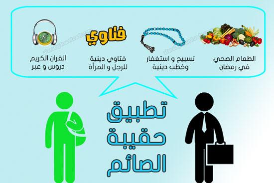 حقيبة الصائم المسلم في رمضان