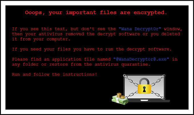 فيروس الفدية الخبيثة Wannacry برمجيات الرانسوم وير Ransomware وكيف تحمي نفسك منها ؟