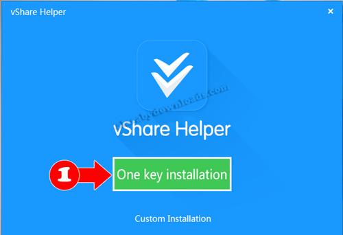 تثبيت البرنامج الصيني vShare للكمبيوتر - تحميل البرنامج الصيني للكمبيوتر