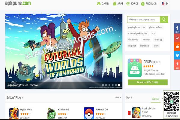 أفضل مواقع تحميل برامج الأندرويد بصيغة APK- تطبيقات وألعاب أندرويد مجانية
