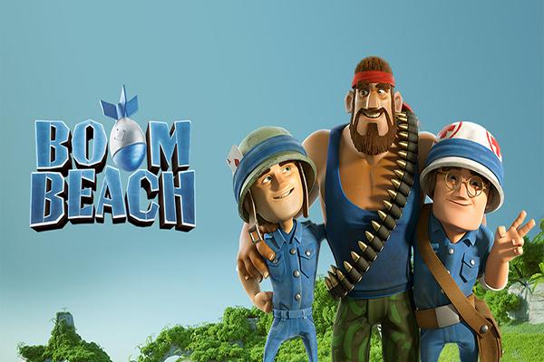 لعبة بوم بيتش Boom Beach - أفضل ألعاب الاندرويد 2018 حسب تصنيف متجر جوجل بلاي
