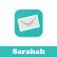 تحميل برنامج صراحه للايفون بعد الحذف Sarahah رابط جديد يعمل بنجاح مجانا بدون جلبريك كيف أستقبل رسائل في برنامج صراحه خيارات متعددة للرسائل