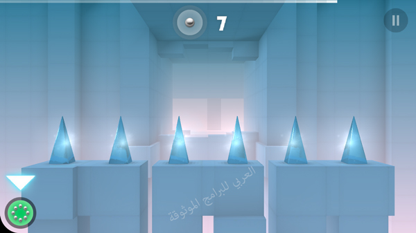 العالم الزجاجي في لعبة سماش هيت للايفون - تحمل لعبة Smash hit في الايفون