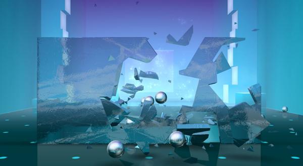 تحطيم الزجاج في لعبة سماش هيت - تحميل لعبه تكسير الزجاج Smash hit اخر اصدار للايفون