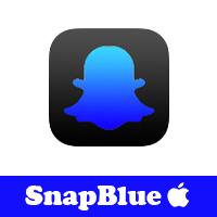 تحميل سناب شات الازرق للايفون ++SnapBlue رابط مباشر مجانا بدون جلبريك توضيح لماذا لا يعمل السناب الازرق مميزات سناب شات الازرق Snap blue