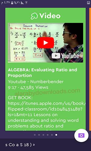 تحميل برنامج حل المعادلات الرياضية بالتصوير Socratic للأندرويد رابط مباشر