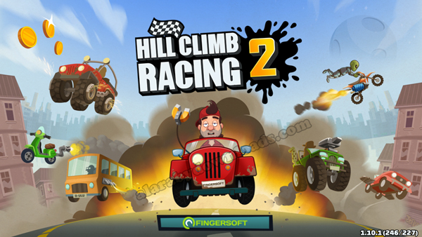واجهة Hill Climb Racing 2 للاندرويد _ لعبة هيل كلايمب رايسينغ 2للموبايل