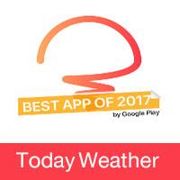 تحميل أفضل برنامج طقس للاندرويد Today Weather 2018
